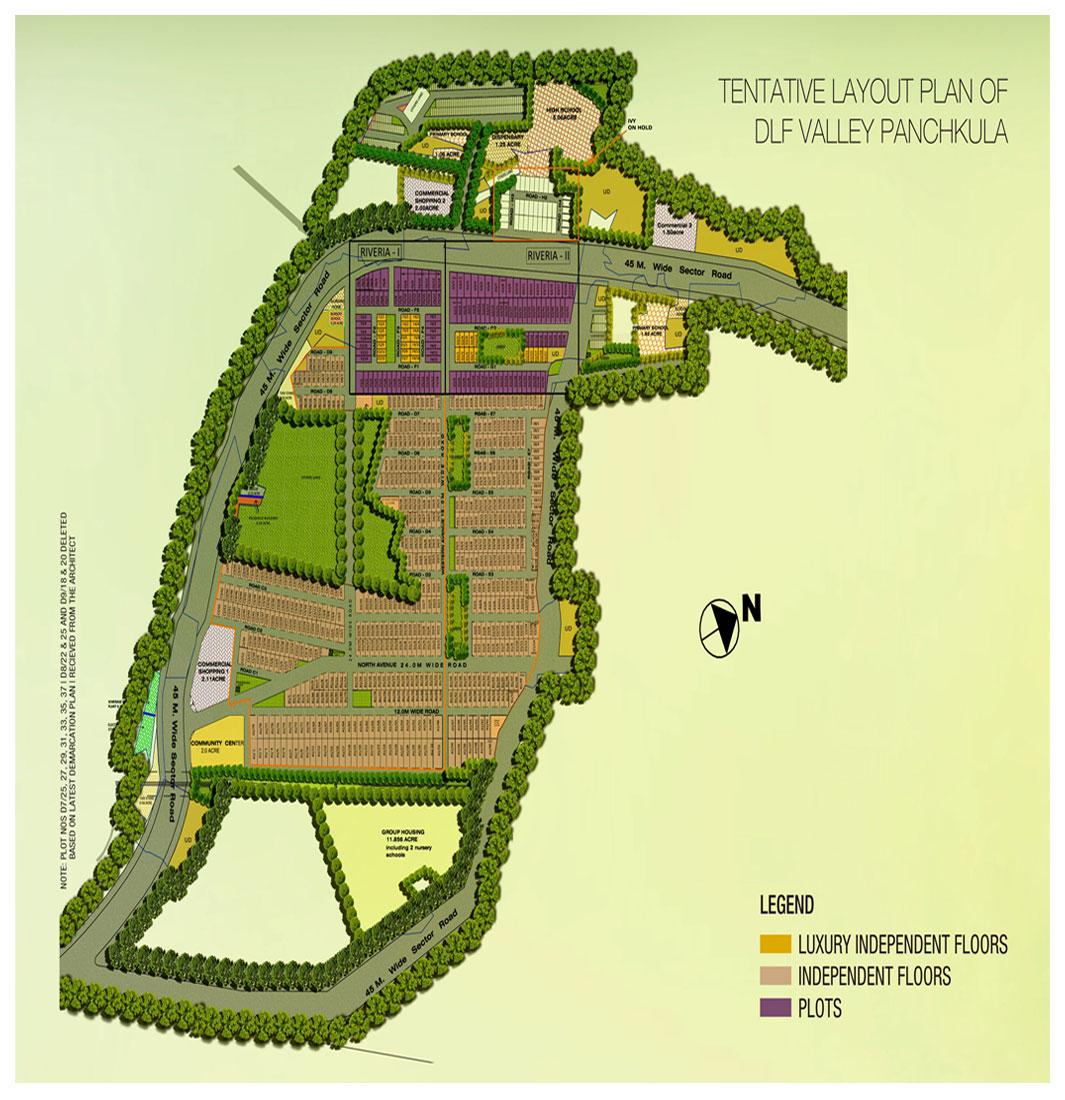 Dlf Valley Panchkula Plots Dlf Plots In Panchkula Valley Panchkula Plots Dlf Valley Plots Floor Plan